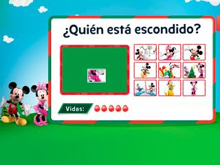 Adivina el personaje oculto - La casa de Mickey Mouse