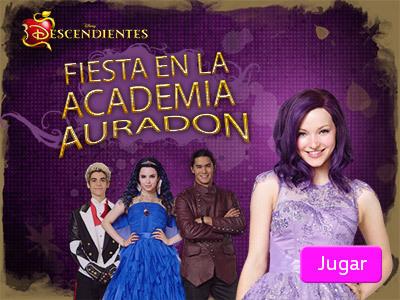 Fiesta en la Academia Auradon