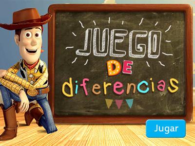 Toy Story - Juego de diferencias