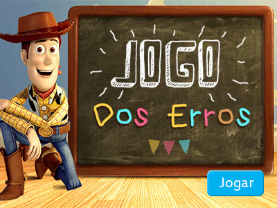 Toy Story - Jogo dos erros