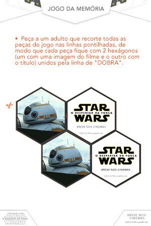 Jogo da memória de Star Wars 1