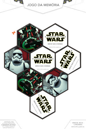 Jogo da memória de Star Wars 3