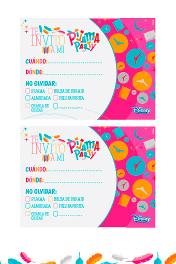 Free Slumber Party Invitations is adorable invitations template