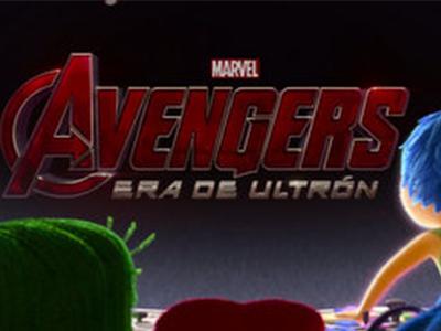 Las emociones de Intensa-Mente son fans de Avengers: Era de Ultrón