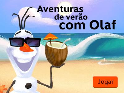 Aventuras de verão com Olaf