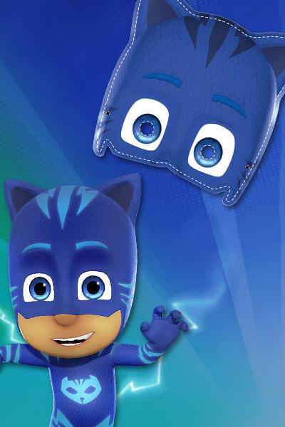 Máscara do Menino Gato