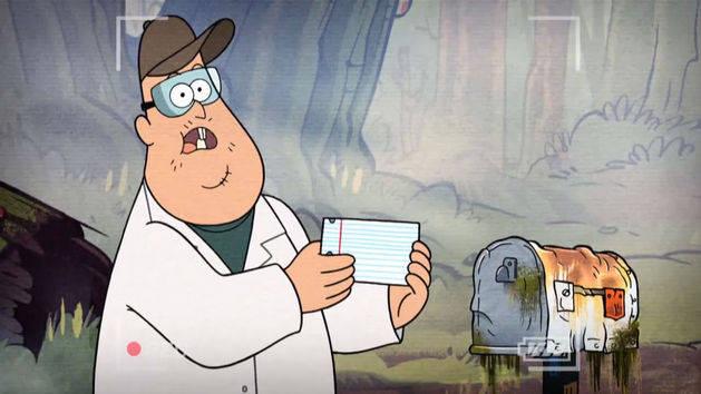Caixa de correspondência - Gravity Falls