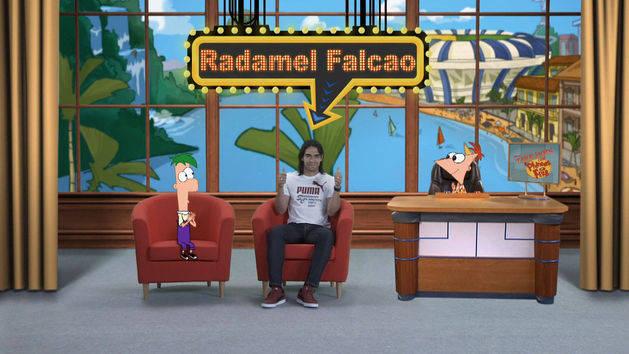 Radamel Falcao - Take Dois com Phineas e Ferb