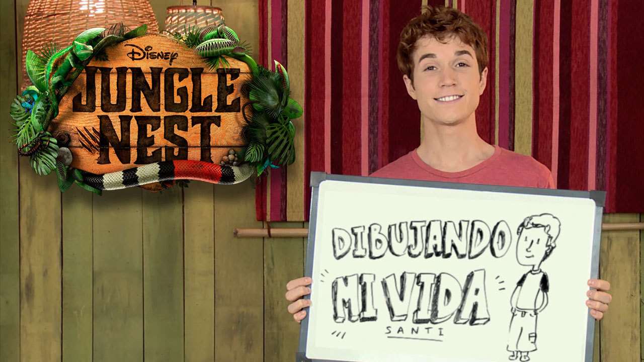Dibujando mi vida: Santi de Jungle Nest
