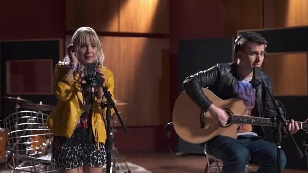 "Bruno e Mayra gravam ""Controversy"" no estúdio - Que Talento!"