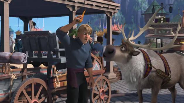 Amar é compartilhar - Olaf dá risada