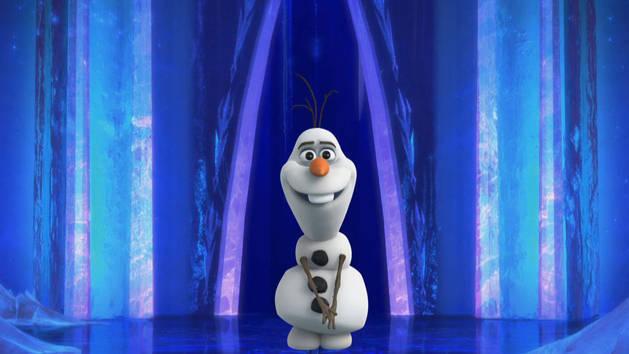 Tener cuidado (al entonar una canción) - Olaf de risa
