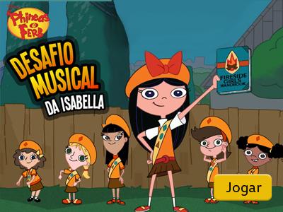 Desafio musical da Isabella