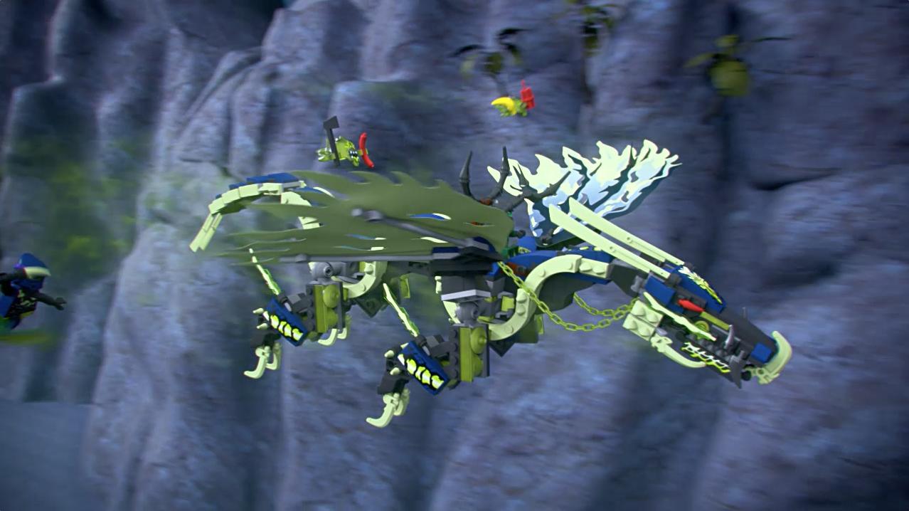 Ataque do Dragão Moro – Ninjago