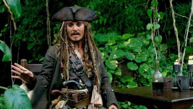 Detras de escena - Piratas del Caribe: navegando aguas misteriosas