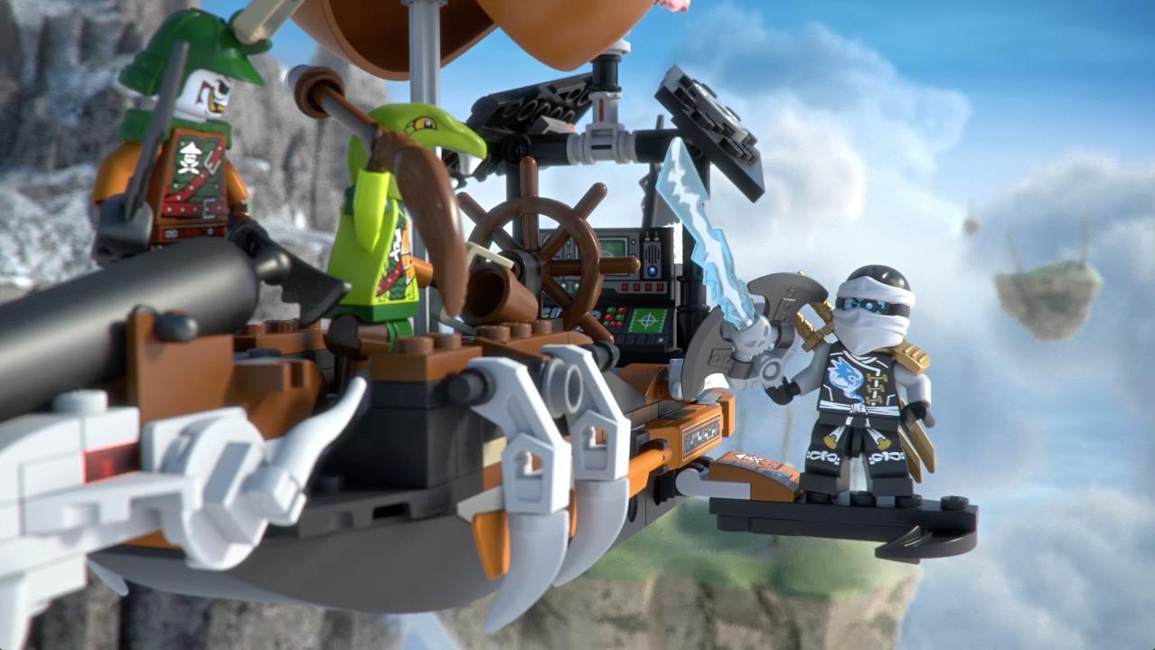 Zepelim de Ataque - Ninjago LEGO