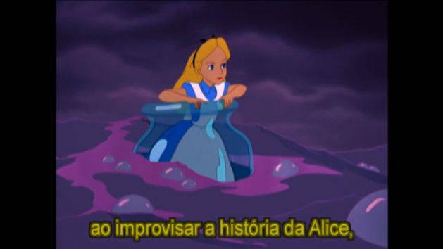 A vida real - Alice no País das Maravilhas