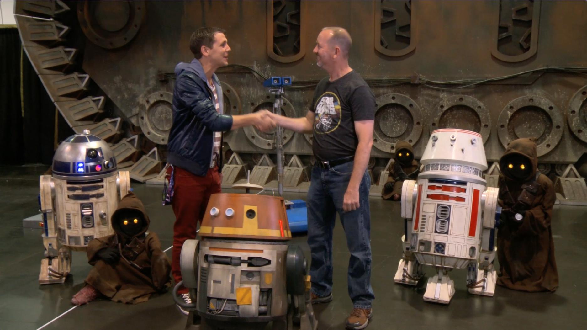 Disney Planet: droides de Star Wars