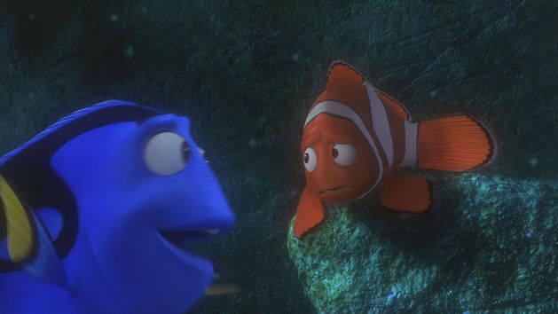 Vamos nadar - Procurando Nemo