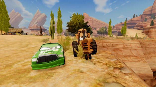 Playset - Carros - Disney Infinity
