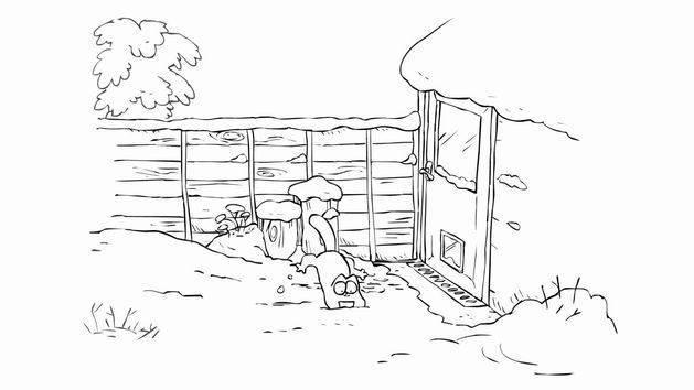 """""""Negocios de nieve"""" - El gato de Simón (Favorito de Disney)"""