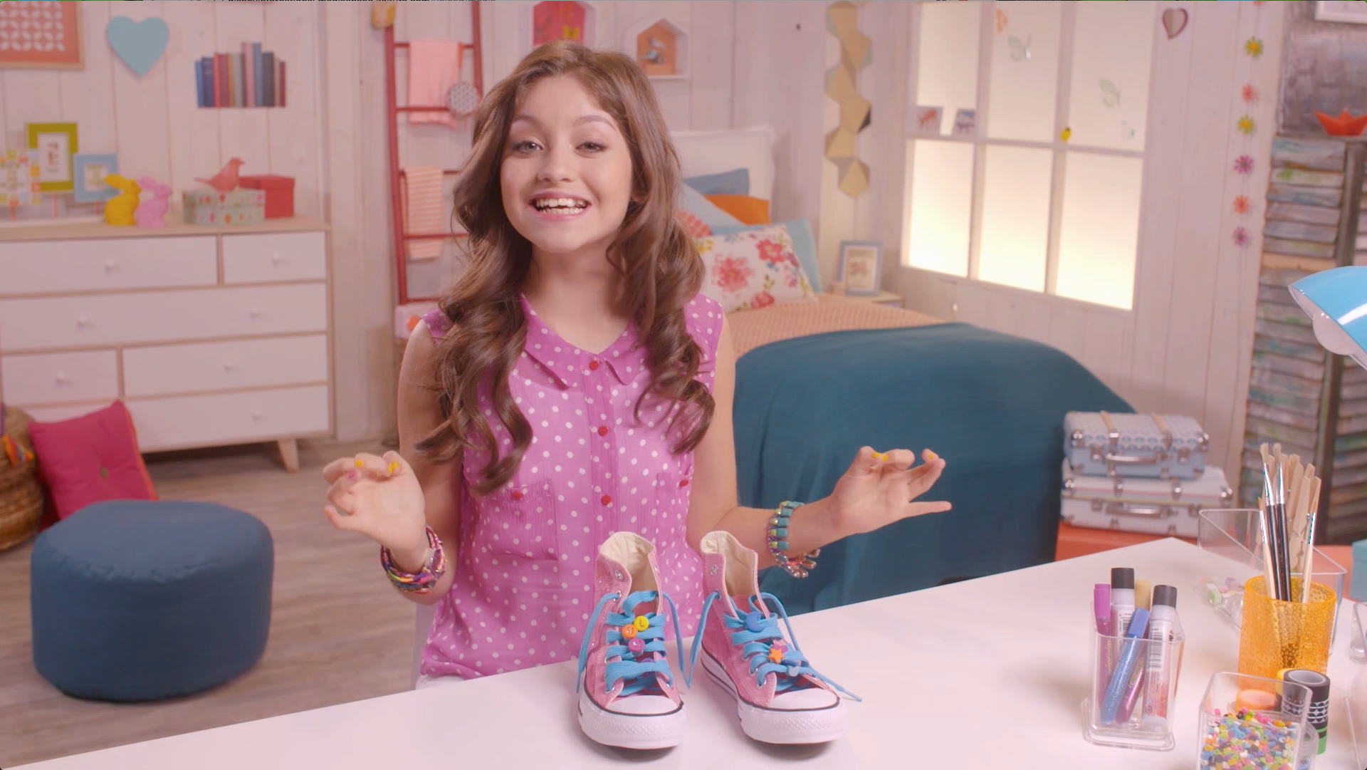 Sapatos personalizados - Sou Luna DIY