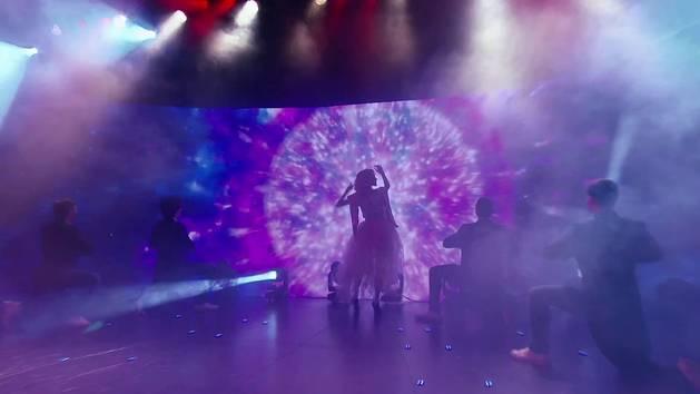 """Momento Musical: Ludmila canta """"Destinada a Brillar"""" - Violetta"""