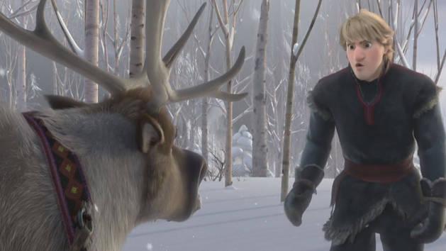 Como controlar sua rena - Olaf dá risada