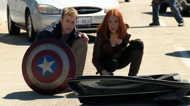 Capitán América y el Soldado del Invierno - Black Widow