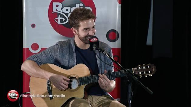 Pablo Alborán - Por fin (acústico en Radio Disney)