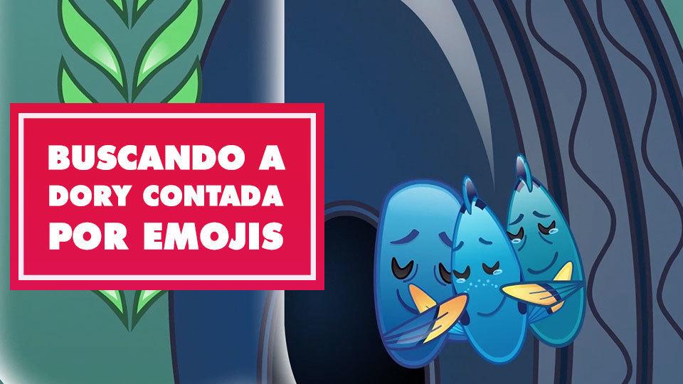 Buscando a Dory contada por emojis | Oh My Disney