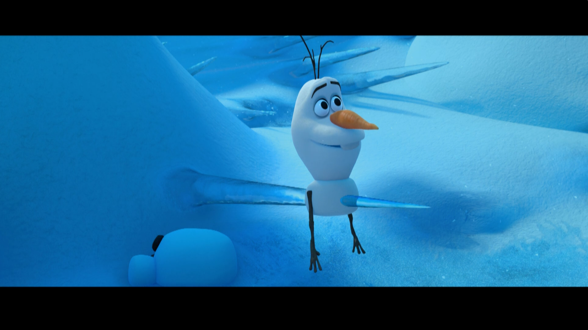 Atenção com o que está ao seu redor – Olaf dá risada