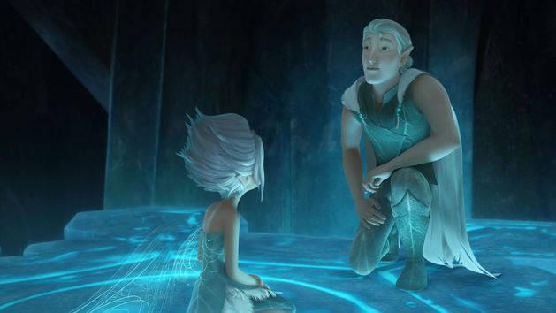 Asa quebrada - Tinker Bell: o segredo das Fadas