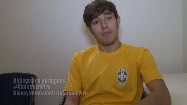 Diálogos en portugués - Violetta en Vivo