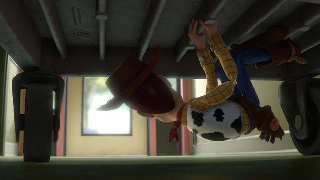 Woody escapa - Toy Story 3