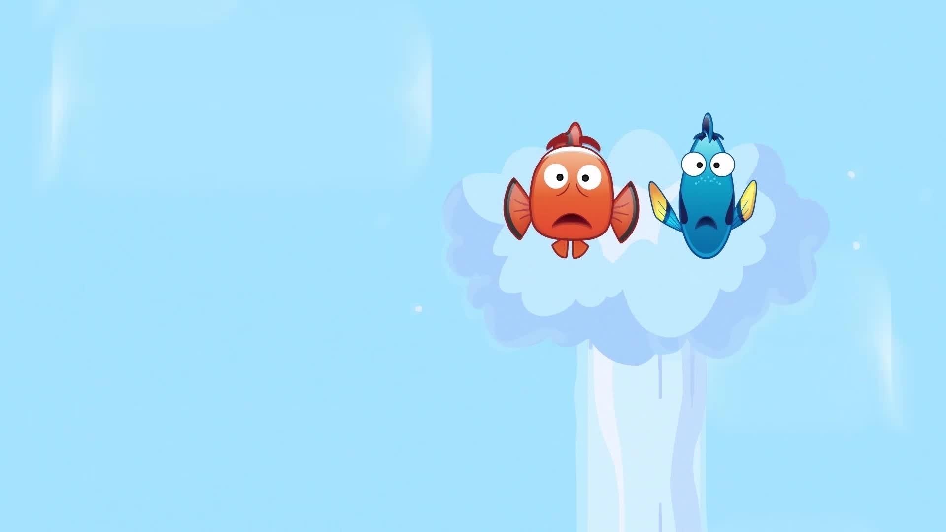 Buscando a Nemo contado por emojis | Oh My Disney