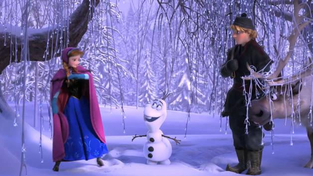 O mundo de Frozen: Uma Aventura Congelante