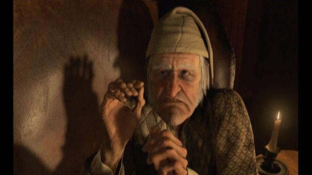 Visita de los tres espíritus - Los fantasmas de Scrooge