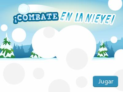 ¡Combate en la nieve!
