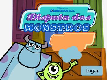 Disputa dos monstros