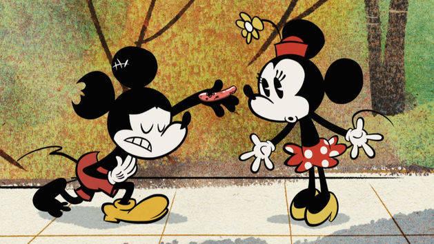 Salsicha nova-iorquina - Mickey Mouse
