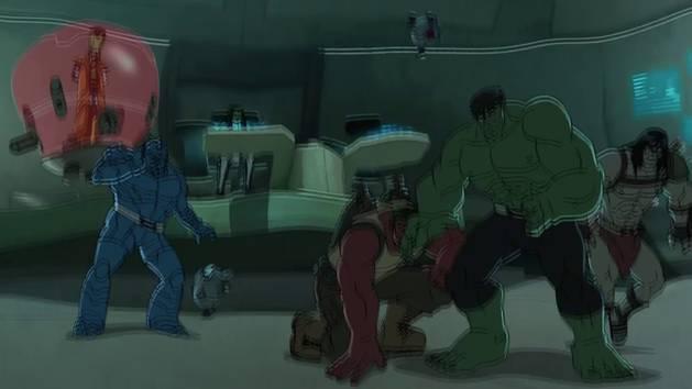 Choque futuro - Hulk e os Agentes de S.M.A.S.H.