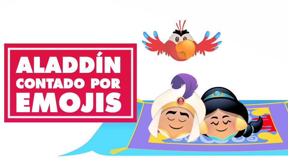 Aladdín contado por emojis | Oh My Disney