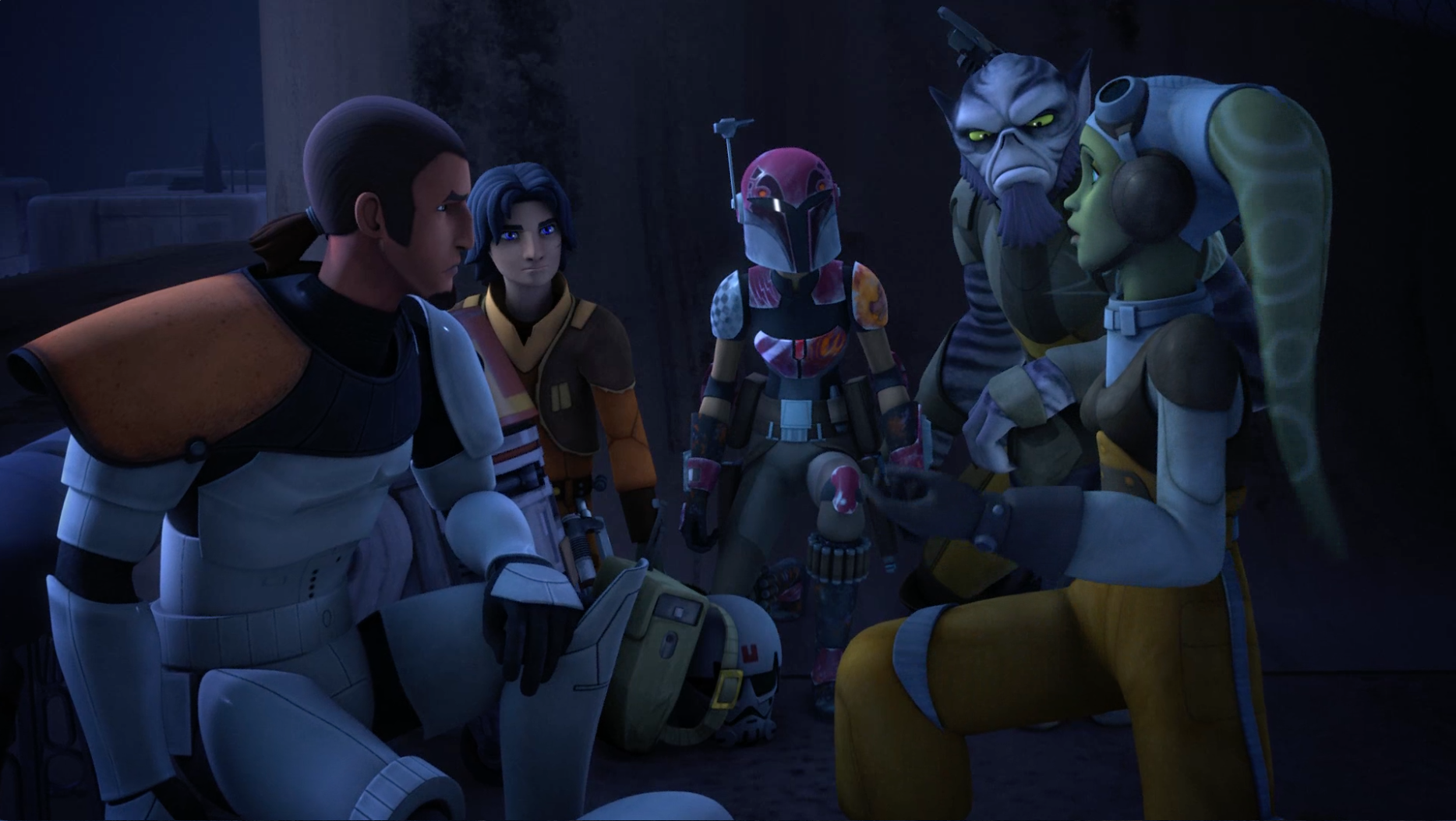 Star Wars Rebels - Estado de sitio en Lothal