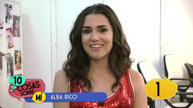 Alba Rico - 10 cosas sobre mí