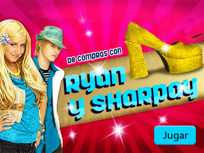 High School Musical 2 - De Compras con Ryan y Sharpay
