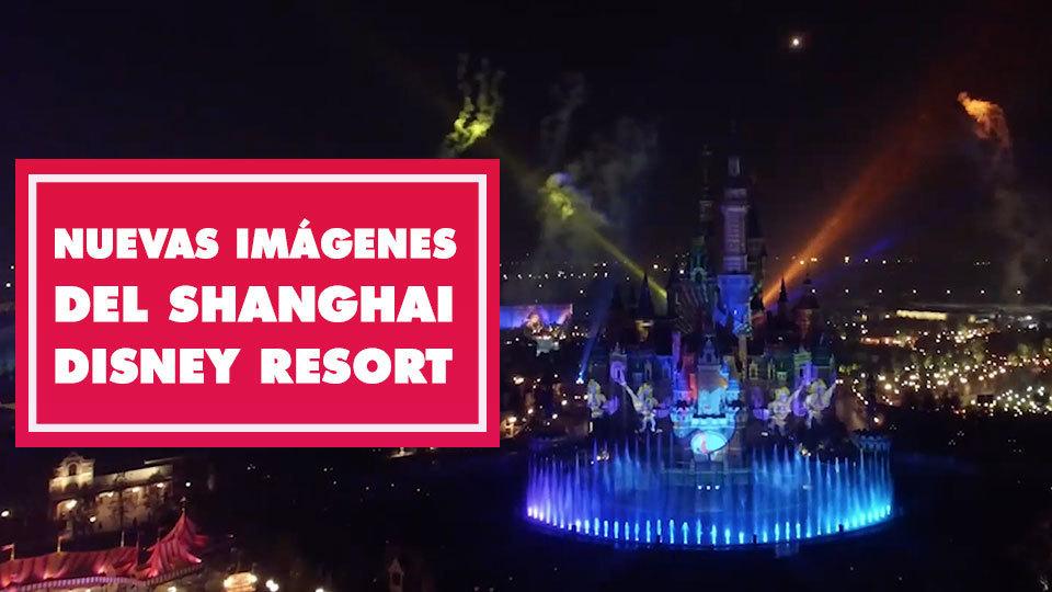 Nuevas imágenes del Shanghai Disney Resort
