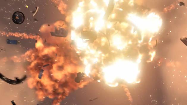 Mash-up: Explosões