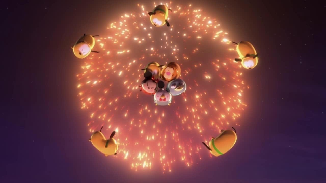 Fuegos artificiales - Tsum Tsum
