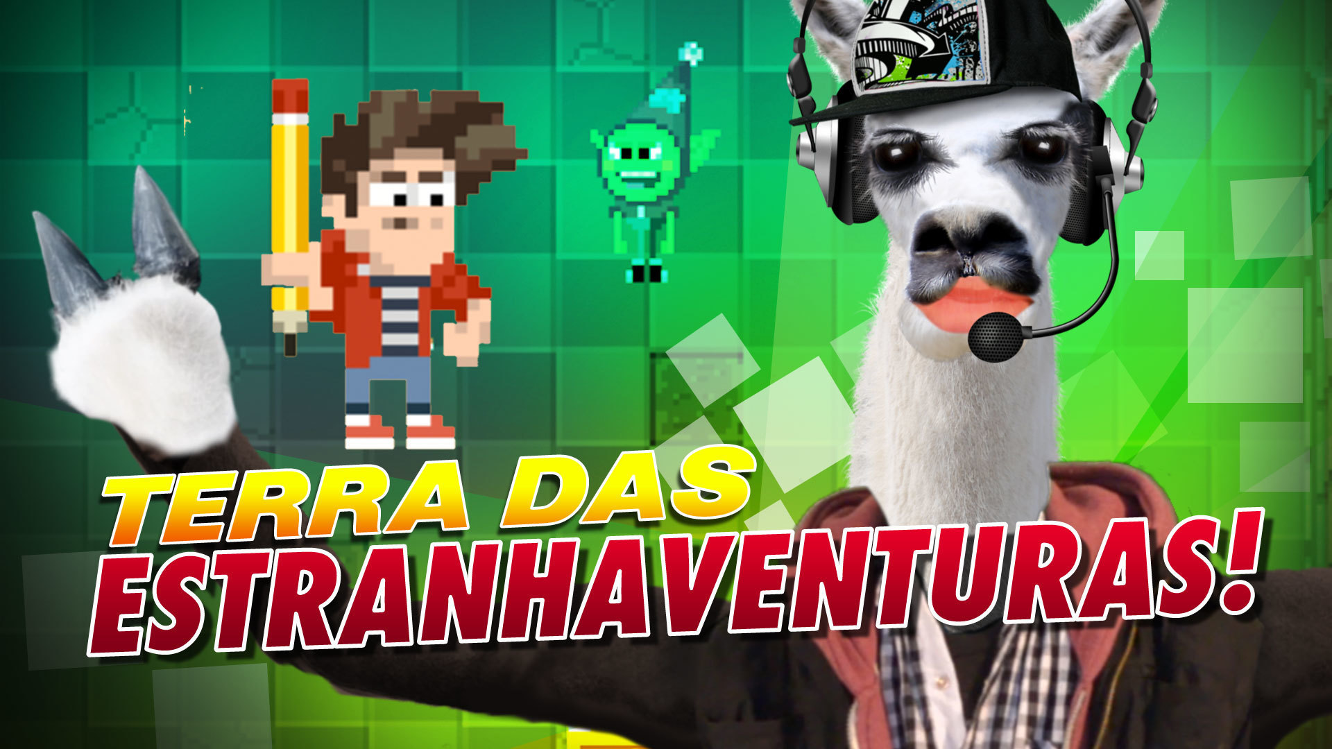 #PlaySteve - Terra da Estranhaventura!